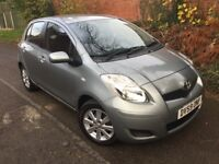 2009 59 Toyota Yaris 1.0 TR 5 Door £30 Tax 1 Owner 7 Toyota Stamps Long Mot Alloys A/C