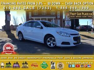 2016 Chevrolet Malibu LIMITED-$64/Wk-WIFI HotSpot-Nav-Bluetooth-
