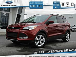 2014 Ford Escape **SE*AWD*CAMERA* CRUISE* A/C 2 ZONES**