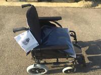 Wheelchair as new used once can deliver
