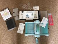Sizzix Big Shot Die Cutting and Embossing Machine with dies