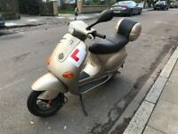 PIAGGIO VESPA ET4 bronze 125cc low mileage excellent runner
