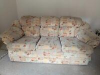 Free 3 piece sofa
