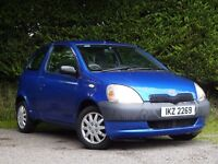 2002 Toyota Yaris 1.0 GS **Full Years Mot** (corsa,206,fiesta,clio,megane,mini,207,polo,kia,astra)