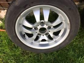 E46 alloy wheels 16'