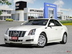 2013 Cadillac CTS Base ONE OWNER BOUGHT AND SERVICED AT APPLEWOO