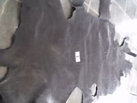 """Large Piece Vintage Leather (40+ Years) - Approx 42"""" x 24"""" (Piece No. 1) Viewing Welcome"""