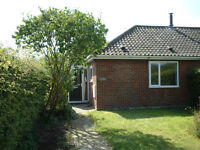 Lovely 1 bed village bungalow with garden