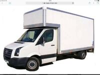 A man and Luton van service 15.00 per hour