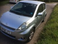 2008 daihatsu sirion minor damage long mot