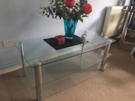 GLASS TABLE VERY GOOD CONDITION