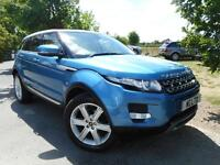 Land Rover Range Rover Evoque 2.2 SD4 Prestige 5dr Auto [Lux Pack] (TV! PAN ROOF! F/S... (blue) 2013