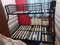 Triple Sleeper Bunk Bed Frame