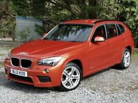 2012BMW X1 X-Drive 20d M Sport, One Owner, Low Mileage, History, Superb Quality and Truly Different!