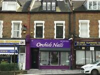 SHOP TO LET IN HORNSEY N8 - NAIL BAR SALON