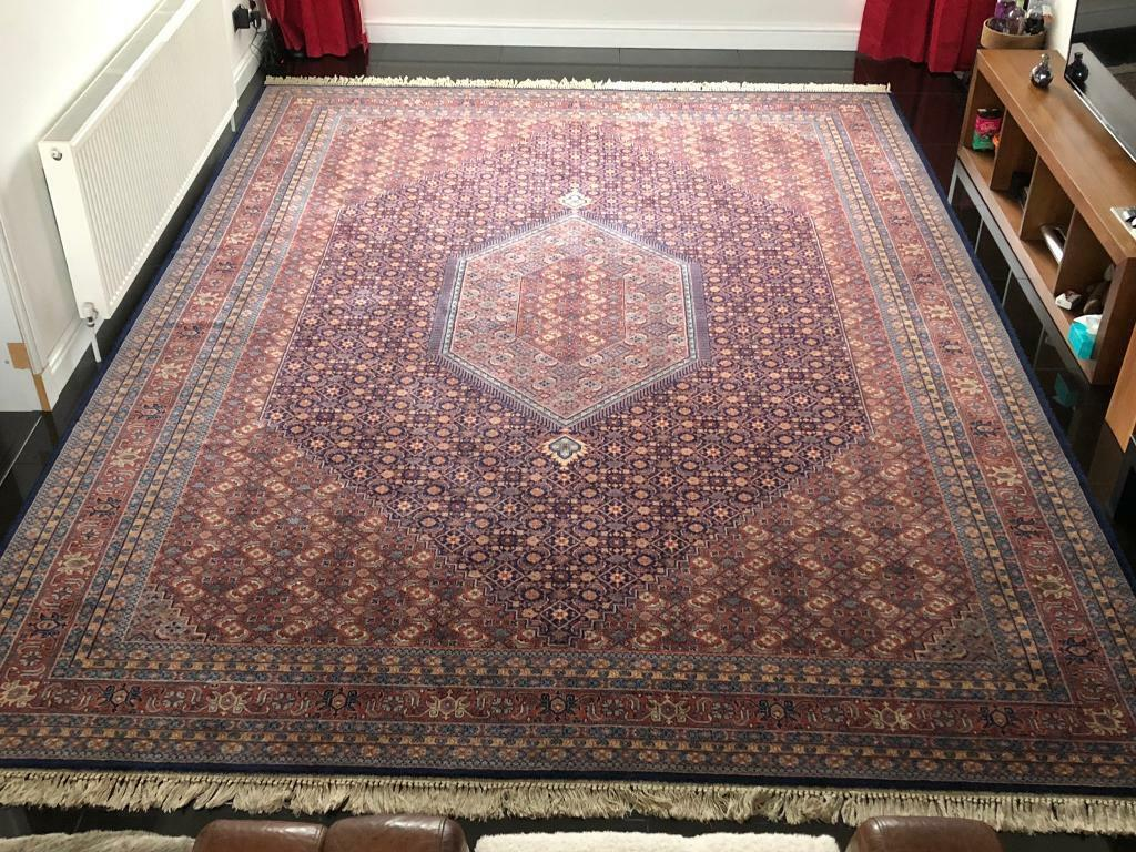 X Large John Lewis 100 Wool Hand Knotted Persian Rug In Cowdenbeath Fife Gumtree
