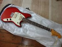 Fender Mustang Pawn Shop Special Candy Red electric guitar