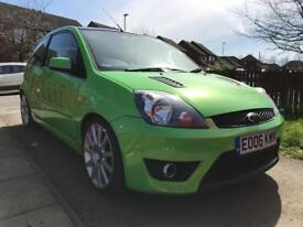 Modified ford fiesta st show car