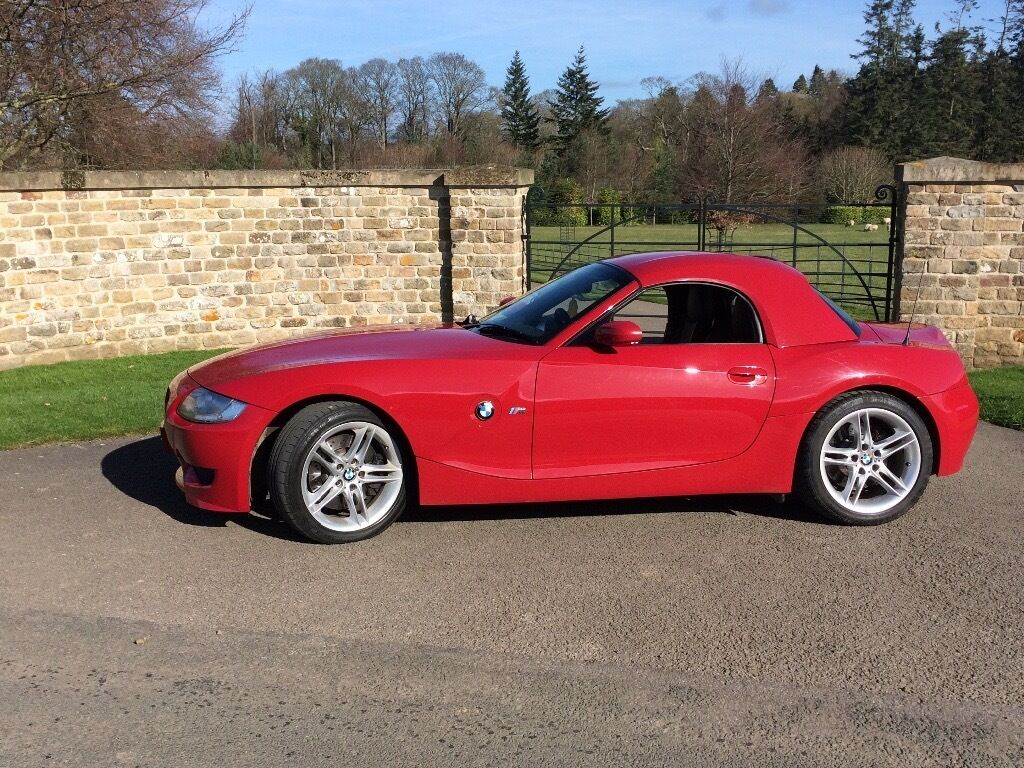 Bmw Z4m Convertible Red 42k Red Hard Top Hard Top Only