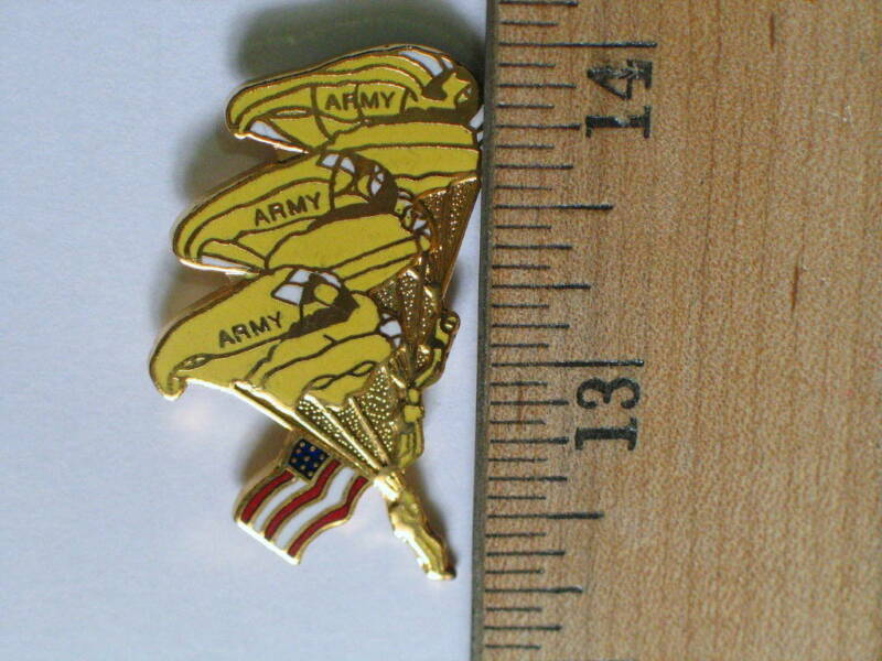 Army Paratroopers  Military Pin