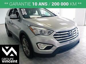 2013 Hyundai Santa Fe XL Limited **6 passagers**