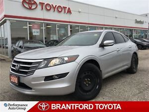 2010 Honda Accord Crosstour EX-L, Leather, Sunroof, AWD, Safety