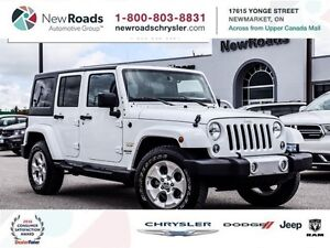 2015 Jeep Wrangler UNLIMITED SAHARA|LEATHER|NAVI|ALPINE SOUND
