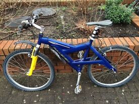 Raleigh Mountain bike, front suspension good condition - needs service, ready for Summer
