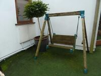 Garden childrens swing