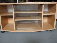 TV Unit Glass Fronted