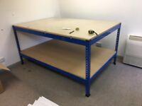 Large work bench