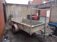 ifor Williams GD84 Single Axle Braked Trailer with Ramp