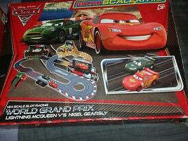 DISNEY CARS 2 MICRO SCALEXTRIC