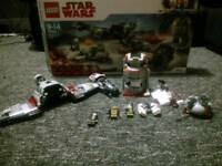 Lego Star wars defence of Crait