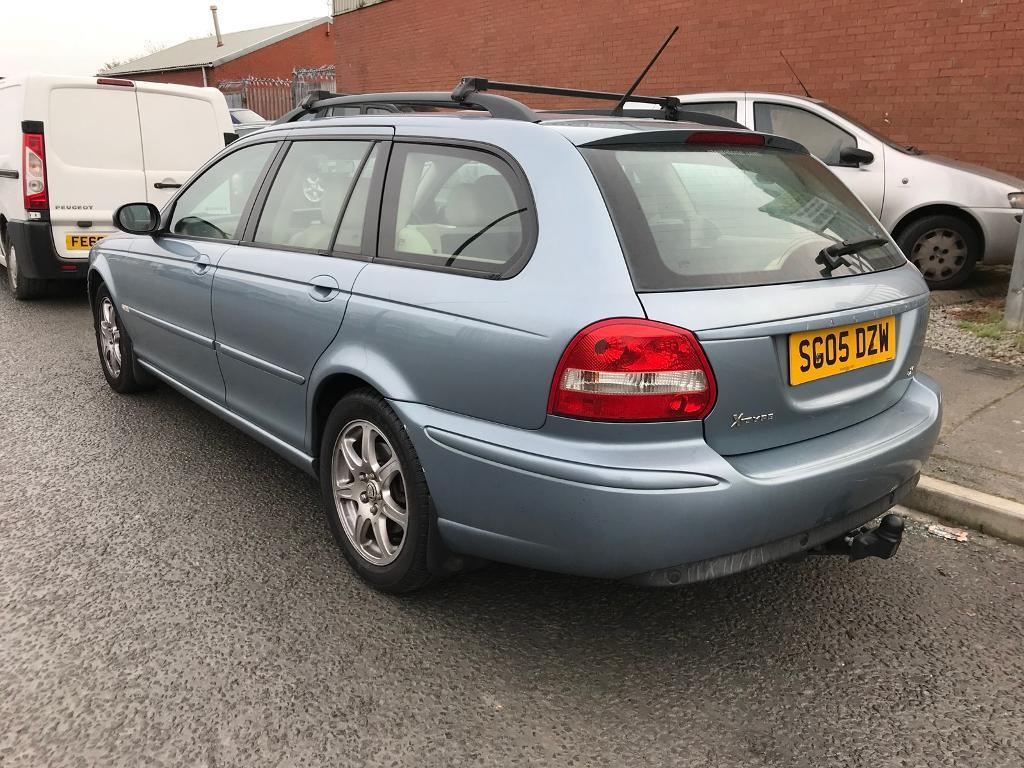 2005 Jaguar X Type Sport Estate 2.0 Diesel - towbar - roof bar - new clutch