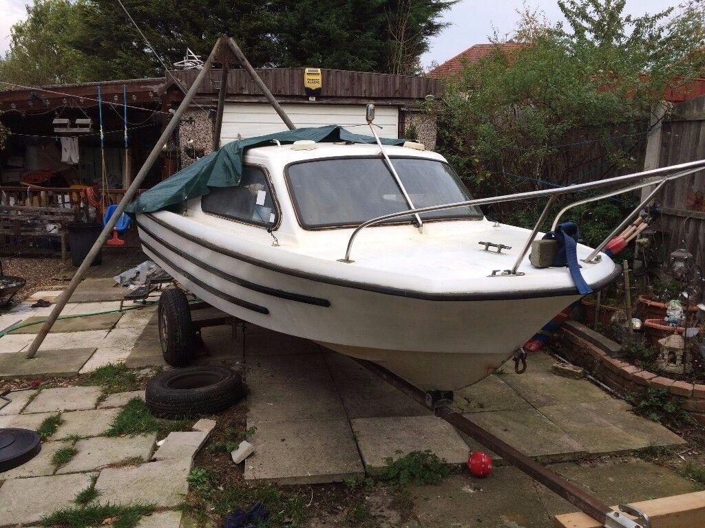 Small Shetland boat