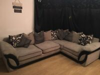L shaped sofa & wardrobe for sale very good condition.