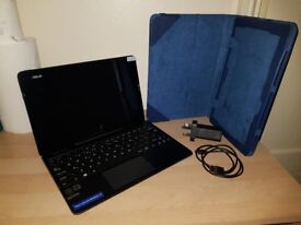 Laptop Tablet Asus Transformer T100 Chi + keyboards 64gb blue