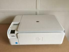 HP 5520 scanner/copier/printer - black ink not working   in