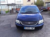 Chrysler Voyage Estate 7seater for sale excellent condition - 1 year MOT