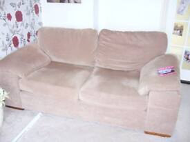 Fabric 2/3 seater sofa for sale .