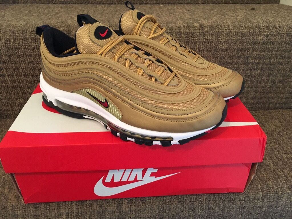 nike air max 97 gold limited edition sold out in romford london gumtree. Black Bedroom Furniture Sets. Home Design Ideas