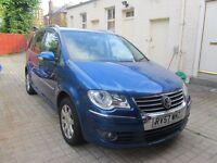 2007 57 Plate Volkswagen Touran 2.0 TDI Sport - 7 Seats - MPV - FSH