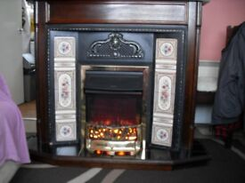 Southbourne fire surround with electric fire