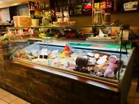sirus open fridge (counter display) £300