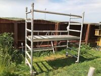 Boss alloy scaffolding podium
