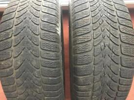 DUNLOP 225/50 R17 winter tyres