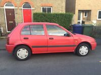 Red Toyota Starlet