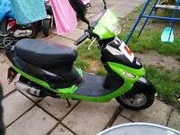 2009 pulse 50cc moped .years mot