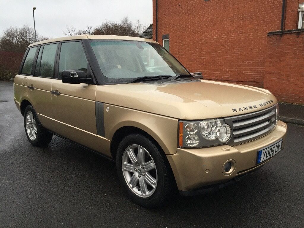 2005 05 land rover range rover 4 4 v8 vogue se auto lpg gas converted 4x4 in sandwell. Black Bedroom Furniture Sets. Home Design Ideas